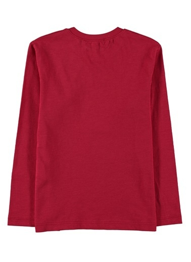 Morhipo Kids Baskılı Uzun Kol T-Shirt Kırmızı